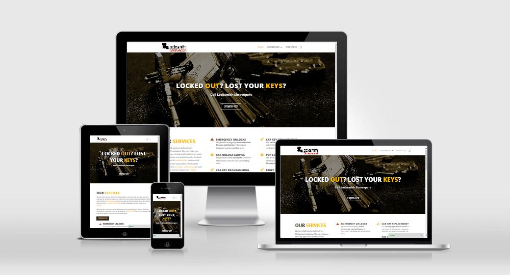 Locksmith Shreveport website